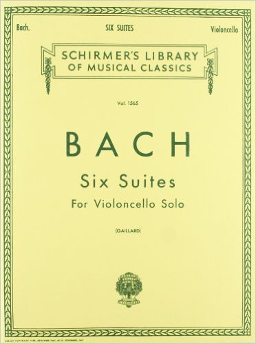 bach cello suites sheet music